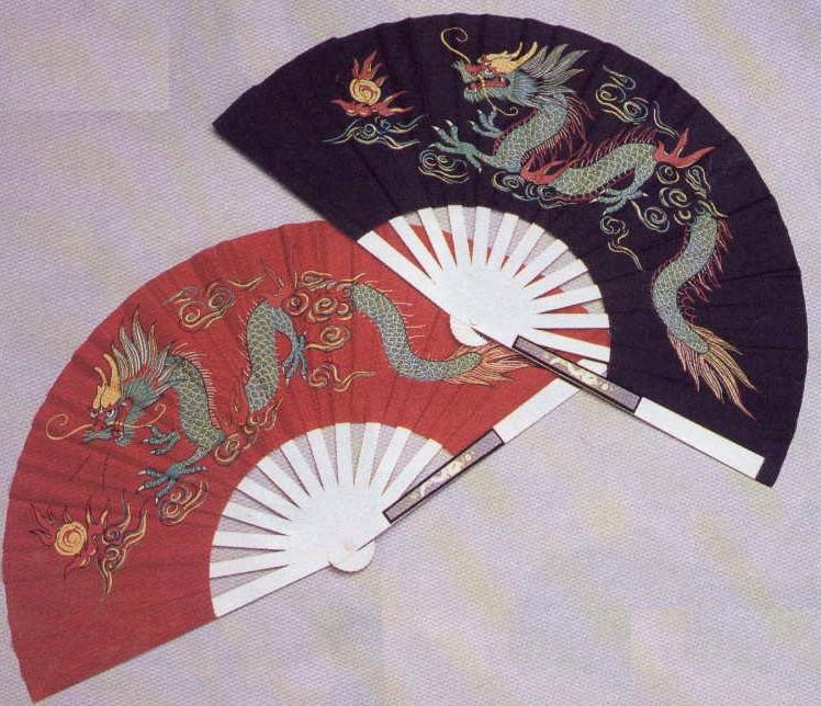 Tai Chi Fighting Fan