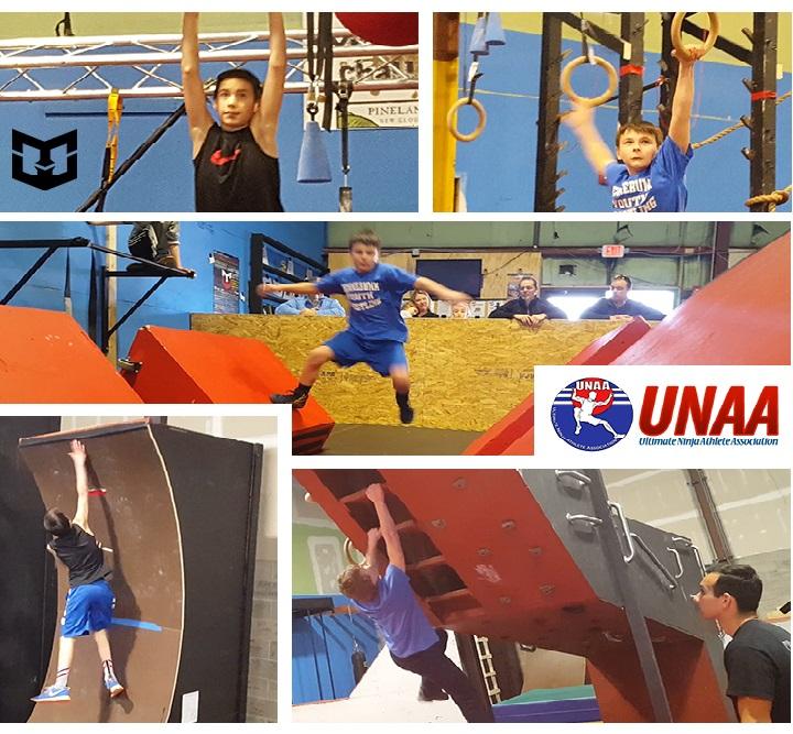 UNAA Ninja Competition Maine