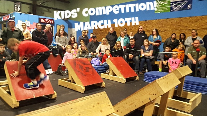 Maine Ninja Warrior Competition Kids