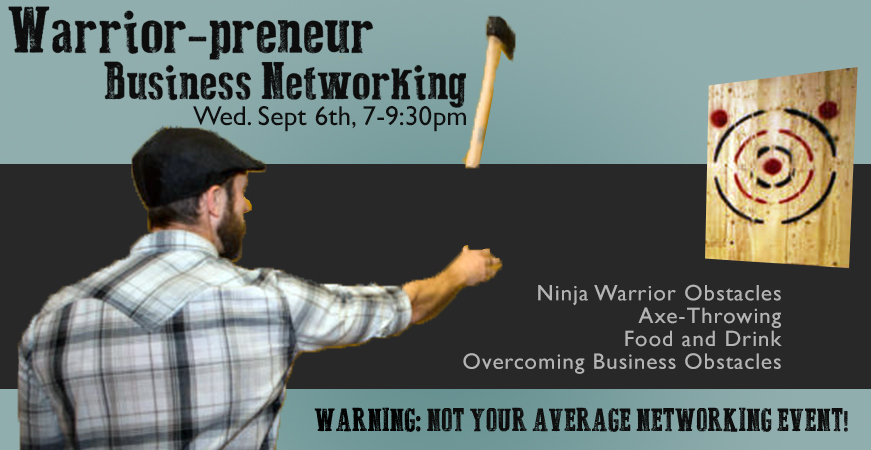 Warrior entrepreneur networking event